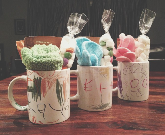 Sharpie mugs crafts with kids